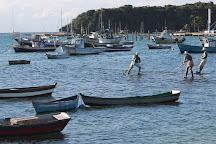 Escultura Os Tres Pescadores, Armacao dos Buzios, Brazil