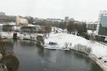 Pond near Diorama, Kirov, Russia