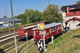 Железнодорожная станция  Pardubice Rosice Nad Labem