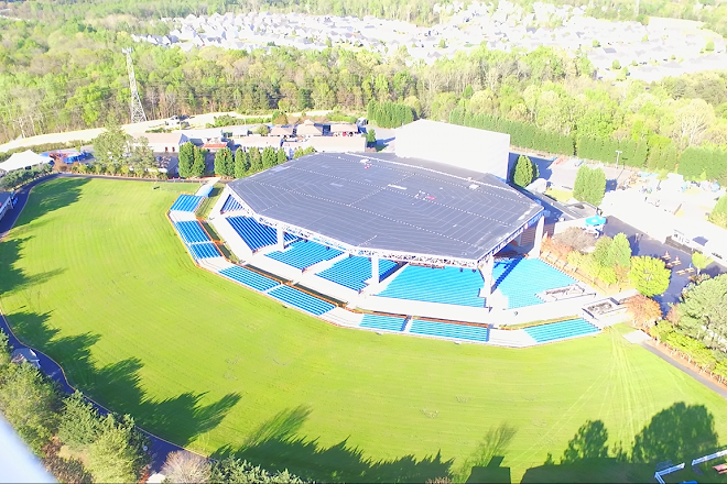 Visit PNC Music Pavilion on your trip to Charlotte or United