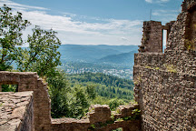 Hohenbaden Old Castle, Baden-Baden, Germany