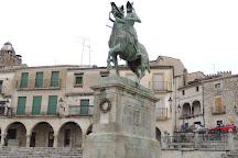 Estatua Ecuestre de Francisco Pizarro, Trujillo, Spain