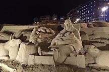 Belen de arena, Las Palmas de Gran Canaria, Spain