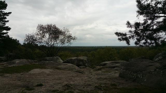 Point de vue de gorges D'Apremont