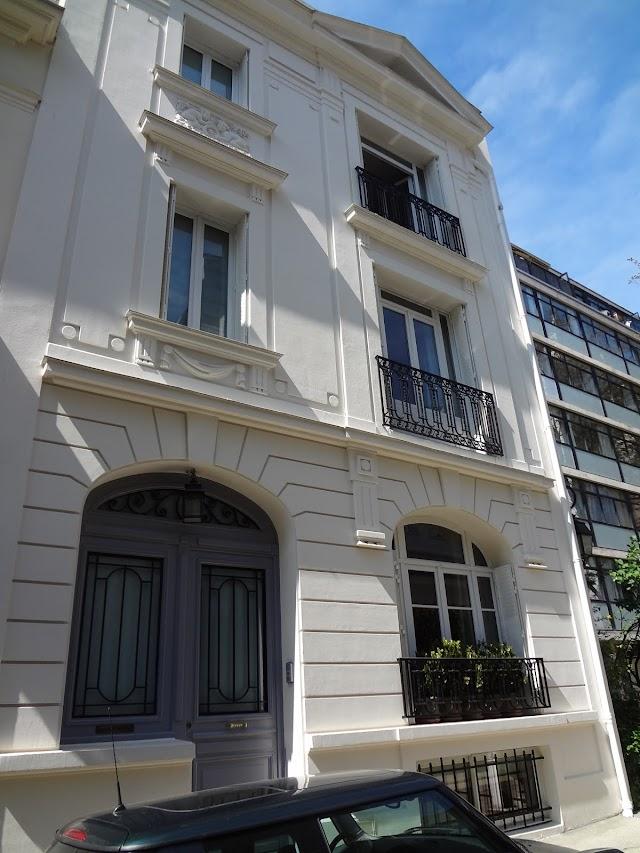 Home of Hector Guimard, 1926