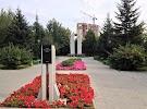 Сквер покорителей атома, Народная улица на фото Новосибирска