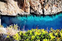 Grotta Azzurra e Palombara, Castro, Italy