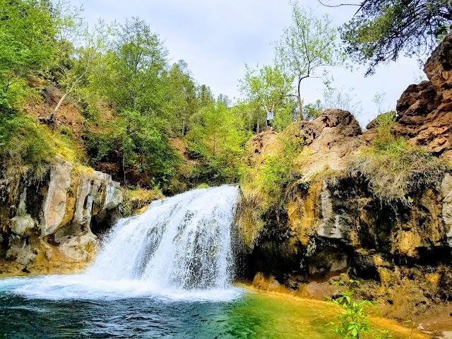Fossil Creek Waterfall