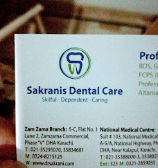 Sakrani Dental Care karachi