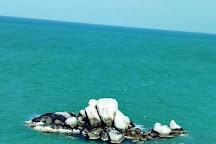 Pantai Tanjung Berikat, Bangka Island, Indonesia