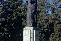 A monument to Karl Marx, Ulyanovsk, Russia