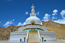 Shanti Stupa, Leh, India