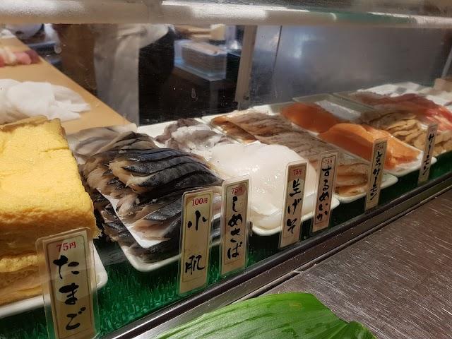 Standing Sushi Bar - Shinbashi Station Store