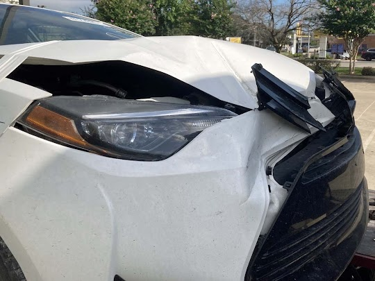 Vehicle Rollaway Accident