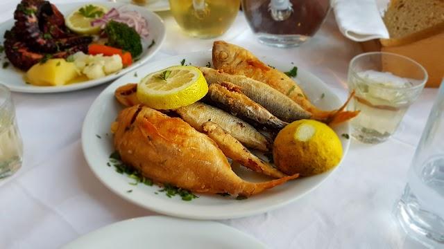 Sunset sfinari Fish Restaurant