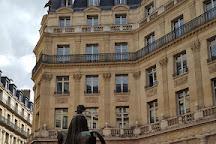 La statue d'Edouard VII, Paris, France