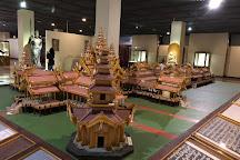 National Museum, Yangon (Rangoon), Myanmar