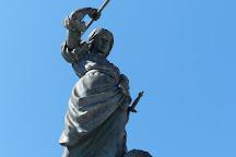 Monumento de Maria Pita, La Coruna, Spain