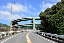 Kawazu Nanadaru Loop Bridge, Kawazu-cho, Japan