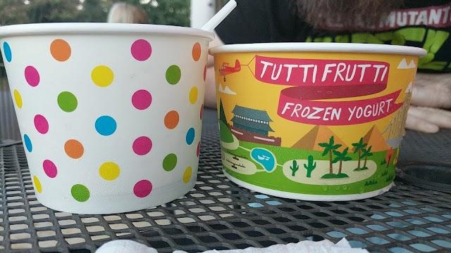 Tutti Fruitti Frozen Yogurt