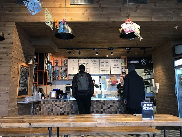 Freddy Fuego Burrito Bar, Hausmanns Gate
