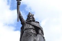 Statue of Alfred the Great, Winchester, United Kingdom