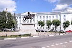 Тверь, Советская площадь на фото Твери