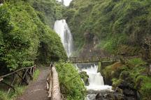 Cascada de  Peguche, Peguche, Ecuador