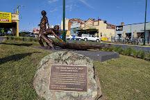 Yarri and Jacky Jacky Sculpture, Gundagai, Australia