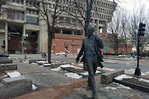 Kevin Hagen White Statue, Boston, United States
