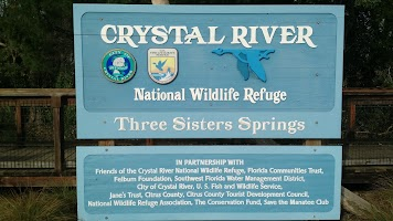 Florida Campgrounds Map.Crystal River Nwr Resident Volunteer Campgrounds Map Homosassa