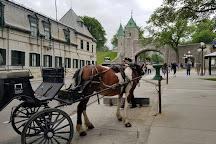 St. Louis Gate (Porte St. Louis), Quebec City, Canada