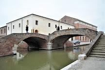 Ponte Degli Sbirri, Comacchio, Italy