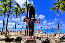 Statue of Duke Kahanamoku, Honolulu, United States