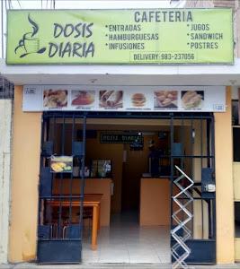 DOSIS DIARIA CAFETERIA 1