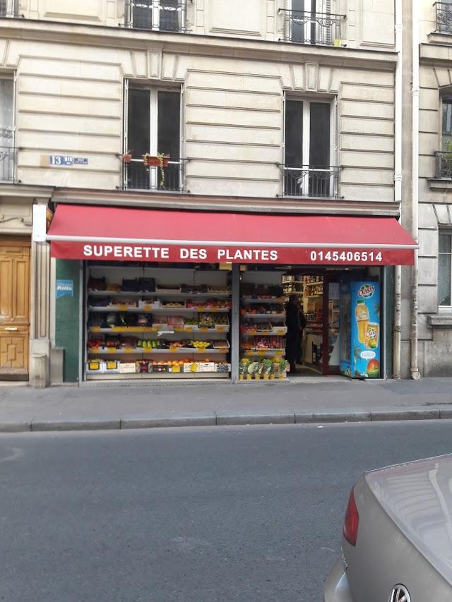Superette Des Plantes