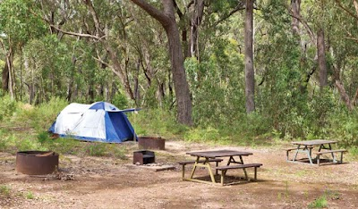 Bark Hut picnic area and campground