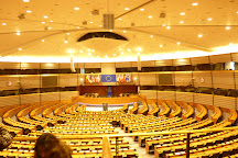 European Parliament (Hemicycle visits), Brussels, Belgium