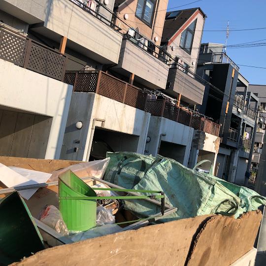 板橋区成増 残置物回収