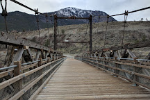 The Old Suspension Bridge, Lillooet, Canada