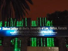 Shaheed Zulfiqar Ali Bhuttto University Of Law (SZABUL) karachi