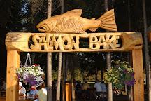 The Alaska Salmon Bake at Pioneer Park, Fairbanks, United States