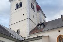 Die Stiftskirche Millstatt, Millstatt, Austria