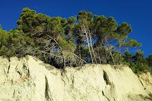 Spiaggia dei Sassi Neri, Sirolo, Italy