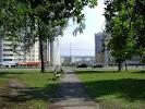 Cквер имени Пирогова, улица Пирогова, дом 6, корпус 7 на фото Чебоксар