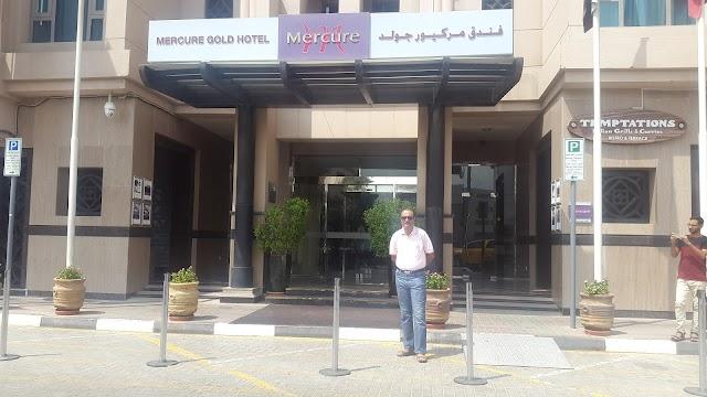 TEMPTATIONS TERRACE - MERCURE GOLD HOTEL DUBAI UAE