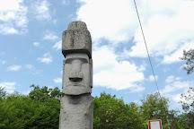 Statua Moai, Vitorchiano, Italy