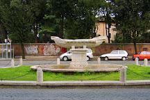 Fontana della Navicella, Rome, Italy