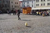 Plague Column, Cesky Krumlov, Czech Republic