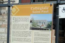 La Collegiale Saint Paul, St-Paul-de-Vence, France